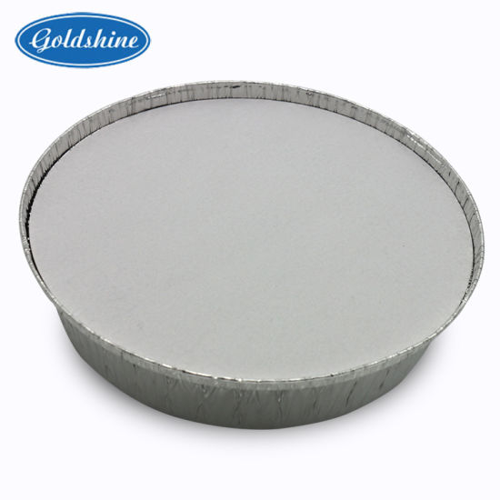 Food Grade Aluminum Foil Round Tray (Y2808) pictures & photos