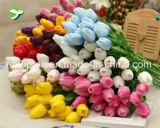 China artificial flowers tulip for wedding decoration china artificial flowers tulip for wedding decoration mightylinksfo