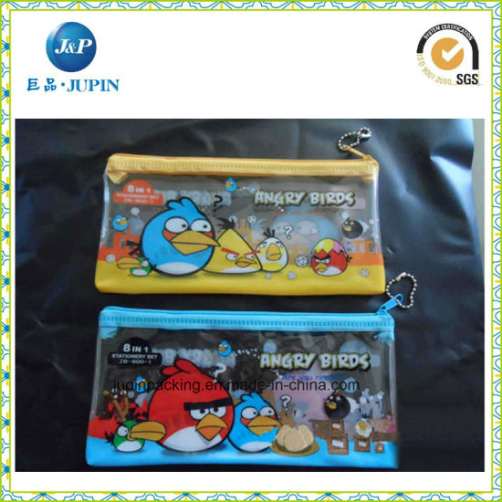 Custom Transparent PVC Gift Packing Bag (JP-plastic020)