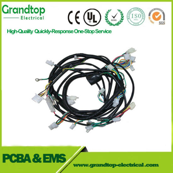 China Car Cable Custom Auto Wire Harness Automotive embly ... on