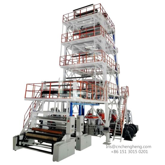 5 Layers Plastic Film Blowing Machine