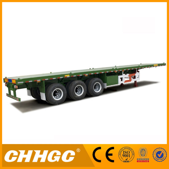 China Tri Axle Flat Bed Semi Truck Tractor Trailer Manufacture China Semi Truck Semi Trailer
