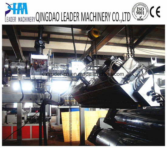 PMMA Light Guide Sheet Panel Extrusion Line pictures & photos