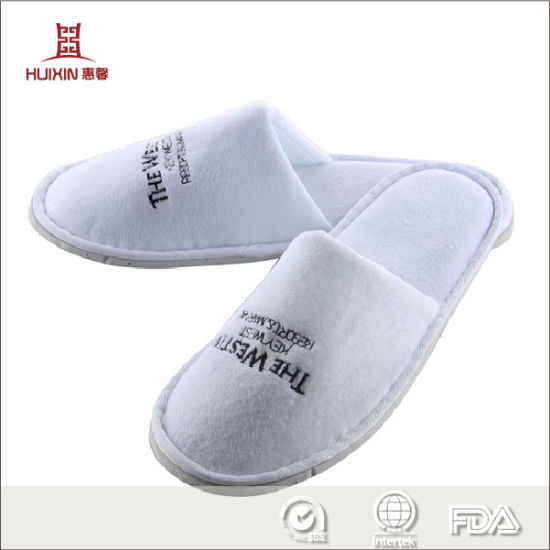 Wholesales Luxury Bath Indoor Airline EVA Disposable Hotels Slipper