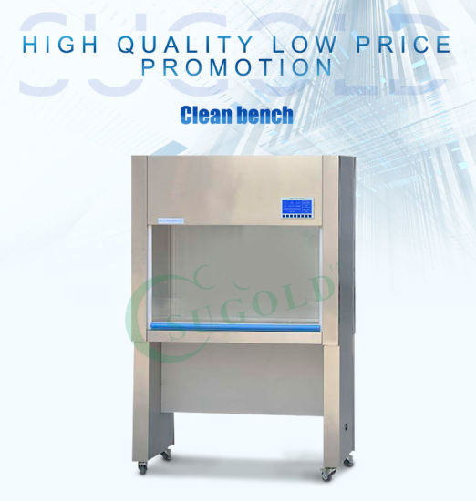 Laminar Flow Horizontal Air Supply Sw-Cj-1c Clean Bench pictures & photos