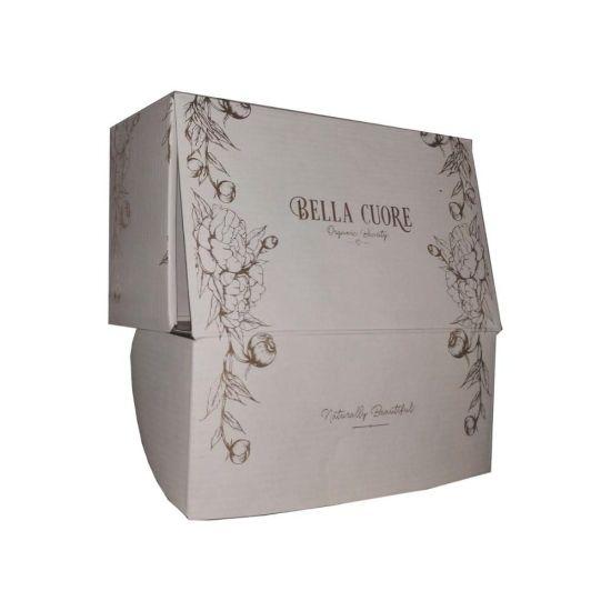 White Color Custom Design Logo Paper Packaging Box