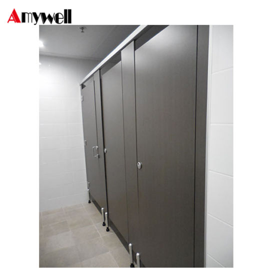 China Amywell Manufacturer Cheap HPL Toilet Partition Cubicle - Cheap bathroom partitions