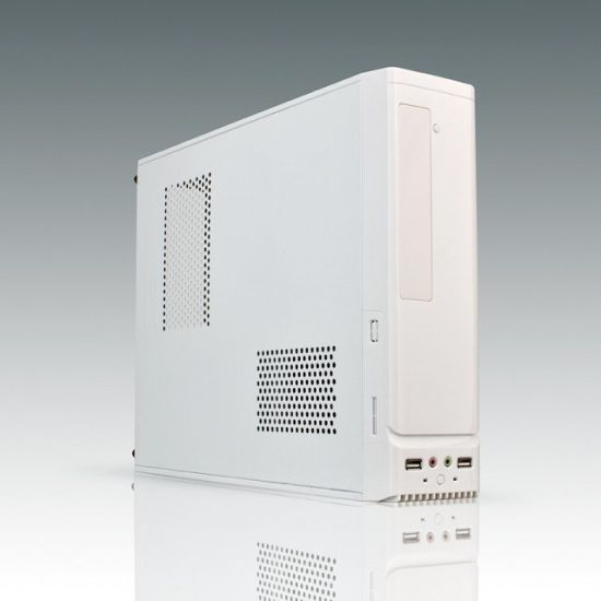 Computer Case Micro Computer Case, Micro Cabinets with Front Double Cooling Fan, Case with LED Cooling Fan pictures & photos