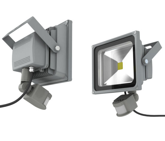 30W 50W IP54 Infrared and Light Detected LED Flood Light pictures & photos