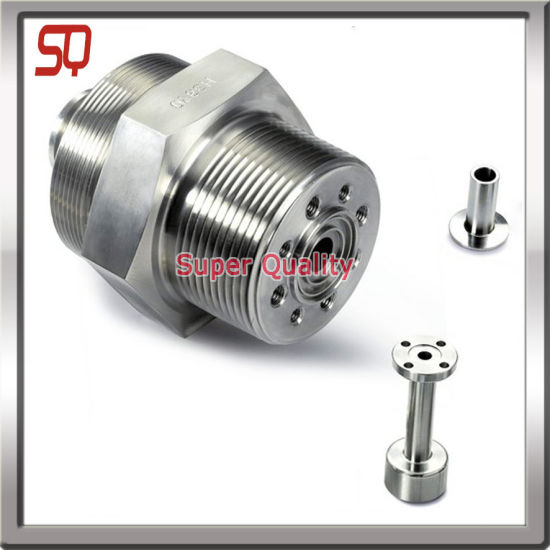 High Precision CNC Machined Aluminum Parts, Lathe Parts pictures & photos