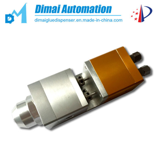 Double Air Cylinder Adjustable Ab Glue Dispensing Valve pictures & photos