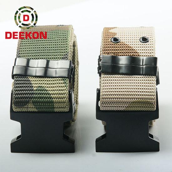 Durable Cobra Military Custom Tactical Nylon Belt with Alloy Buckle