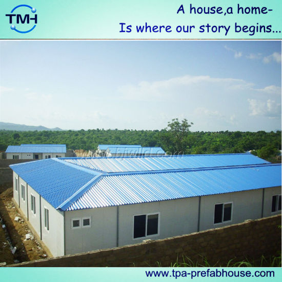 Prefabricated Structure House for Temporary Living pictures & photos