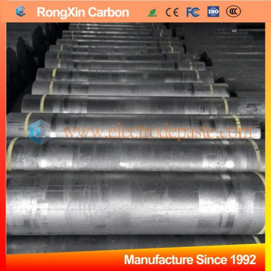 500mm 600mm petroleum coke made graphite electrode for steel metallurgy industry