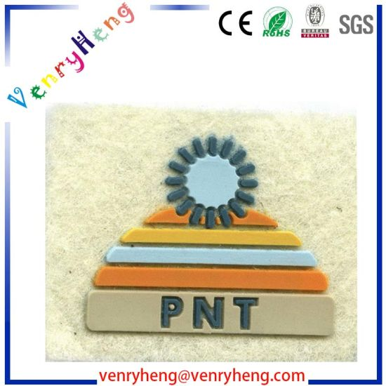 Customized Logo 3D Rubber Soft PVC Patch