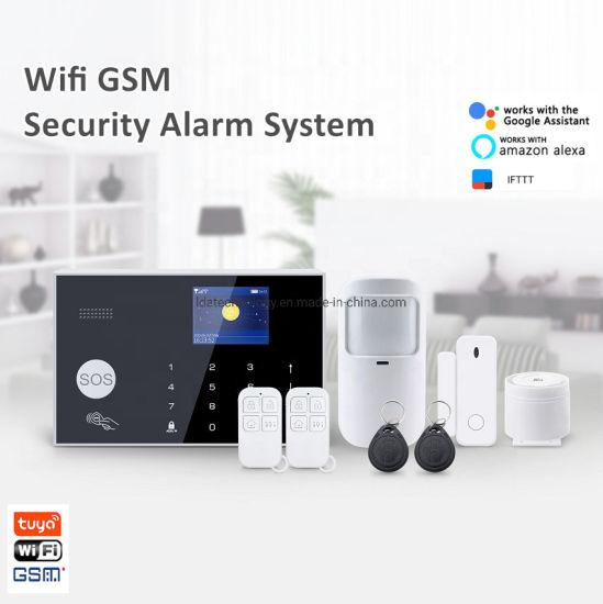 DIY Security WiFi GSM Home Burglar Alarm System with PIR Sensor Siren