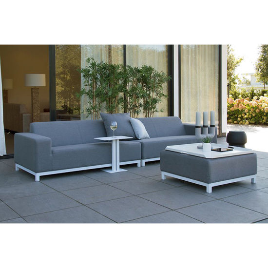 Popular Patio Sofa with Waterproof Fabric Seat Ans Strong Backrest