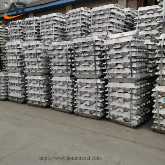 Direct Sale High Purity 99%-99.9% Aluminum Ingot with SGS Report