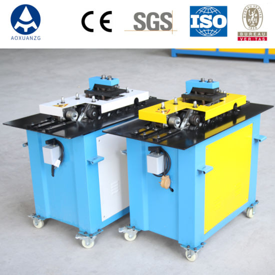 Sheet Metal Pittsburgh Lockformer Machine/Air Duct Rectangle Tube Production Line Snap Lock Forming Machine