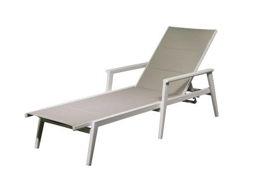 High Quality Textilene Fabric Lounge with Aluminum Frame