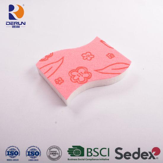Nonwoven with Magic Eraser Sponge