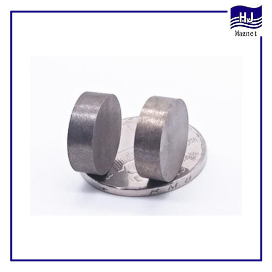 Strong Wafer Permanent Rare Earth SmCo1: 5/2: 17 Customized Cylinder SmCo Magnet