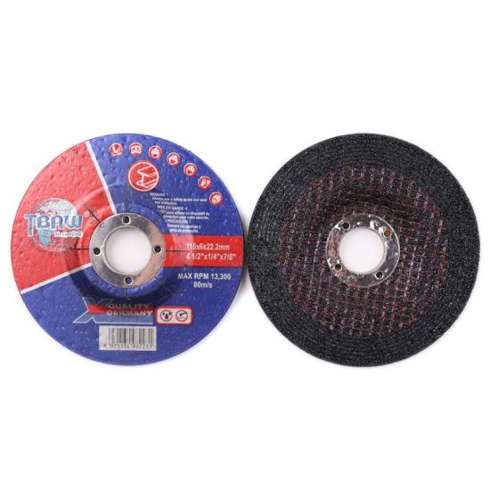 China Wholesale T27 4.5'' Metal Abrasive Polishing Cutting Disc Grinding Wheel