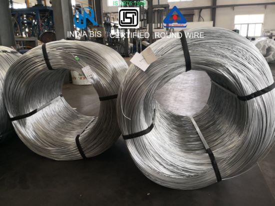 India Bis Certified Steel Galvanized Iron Round Wires 0.3mm, 0.45mm, 0.90mm