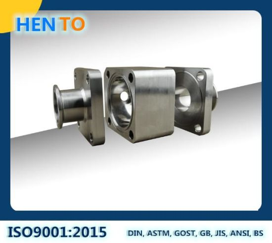 Forged CNC Machining Precision High Purity Hygienic Sanitary Stainless Steel Ball Valve Parts