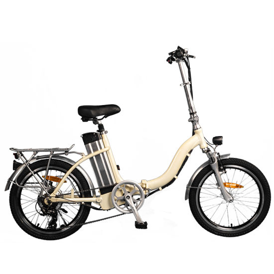 36V 250W Folding Electric Bicycle with Lithium Battery for Wholesale