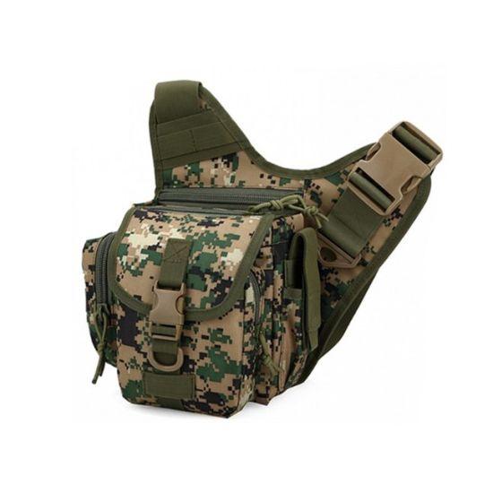Multi Pockets Military Rain Proof Motorcycle Super Tactical Saddle Bag