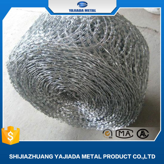 Hot Dipped Galvanized Razor Barbed Wire with Cheapest Price