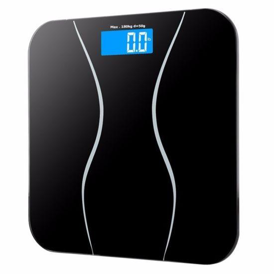 High Precision 180kg Digital Bathroom Scale Body Fat Scale