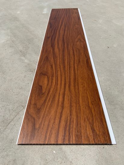 Wooden Panel Wood Color Laminated PVC Wall Panel
