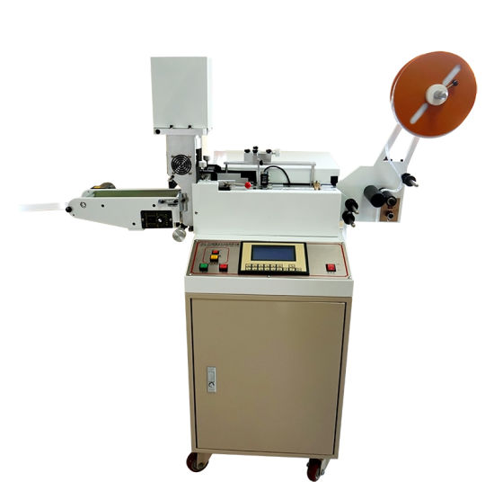 Super High Speed Automatic Ultrasonic Care Label Cutting Machine
