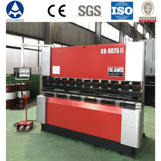 China Cheap Metal Sheet Bender Hydraulic Top Drive CNC Press Brake Machines