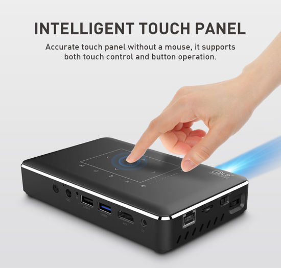 Short Throw 4K Made DLP Interactive Android System Universal Mount Stand LED 6000 Lumens Projector LED 4K Mini Protector 3D Laser Headlight Projector