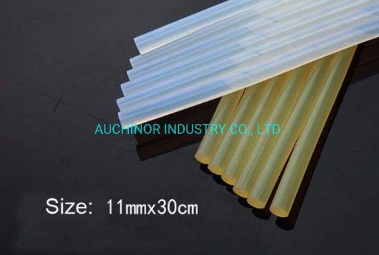 Flexible Heat Melt Glue Stick Silicone 100% Transparent Black Hot Melt Glue Stick Black Hot Melt Adhesive Glue Stick Strip