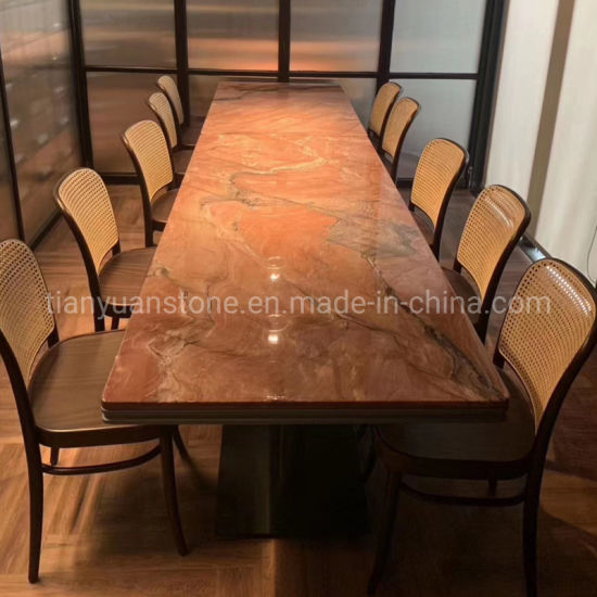 China Granite Marble Stone Dinner Table Top For Hotel And Home Furniture China Dining Table Table Top