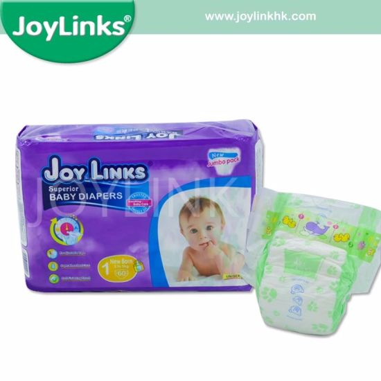 OEM Manufacturer Disposbale Baby Diaper with Waist Band