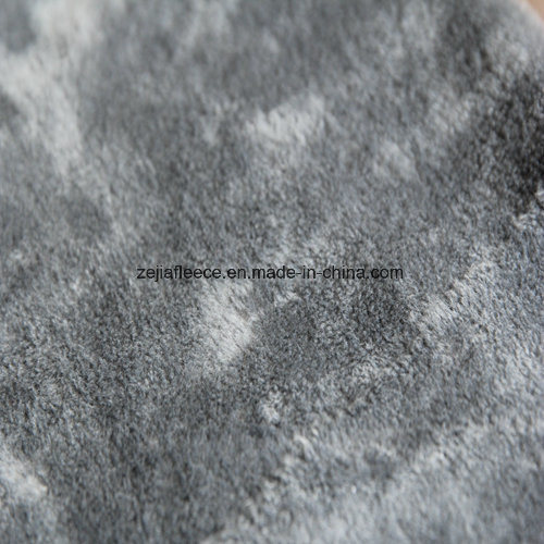 Super Soft Short Plush in Grey Color