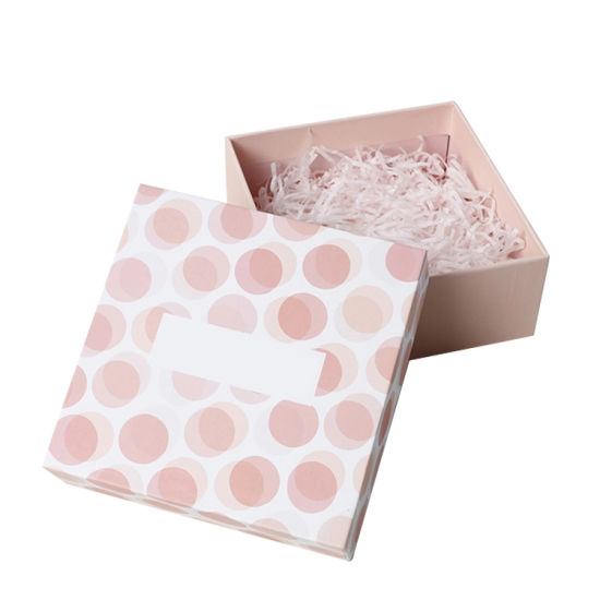Pink Wholesale Custom Logo Free Sample Colorful Printed Fancy Paper Luxury Gift Box