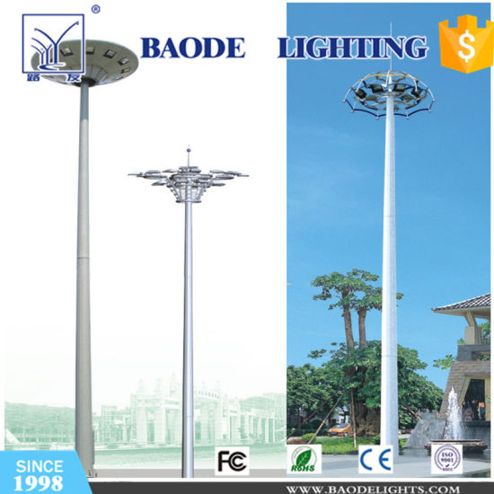 Light Pole Design: High Mast Light Pole Design