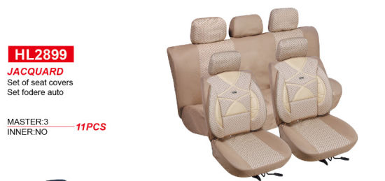 Car Accessories All Weather Universal Super-Fiber Leather Automatic Car Seat Cover pictures & photos