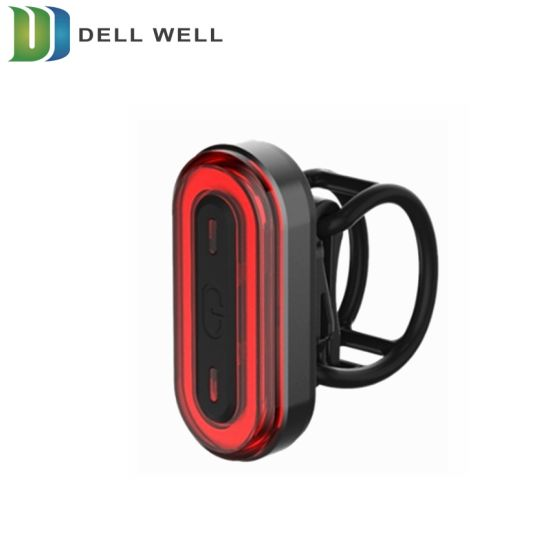 Mountain Safety Warning Mini LED USB Rechargeable Bike Tail Light pictures & photos