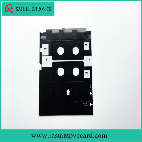 Printer Parts Pvc Id Card Tray Plastic Card Printing Tray For Epson R260 R265 R270 R280 R290 R380 R390 Rx680 T50 T60 A50 P50 L800 L801 R330 High Safety Office Electronics