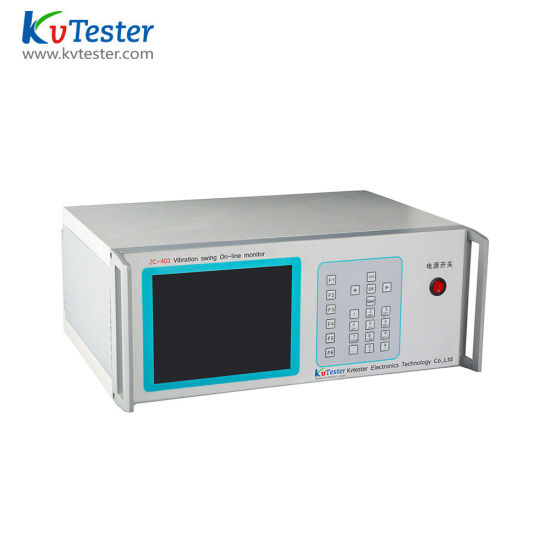 Full Function Automatic Electrical Testing Instrument Kvtester Zc-403 Pendulum Vibration Swing on-Line Monitor pictures & photos