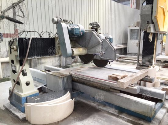 Hkb-41500 Four-Blade Diamond Saw Edge Cutting Machine for Column Slab pictures & photos