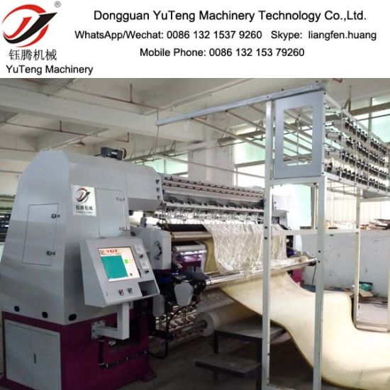 High-Speed Automatic Chain Stitch Multi-Needle Quilting Machine Ytnc96-3-6 pictures & photos