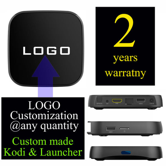 Custom Made T95rpro Android7.1 TV Box Amlogic S912 Octa Core 2GB 16GB 1500+ Live TV Channels 1000+ VOD pictures & photos